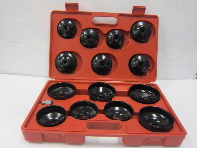 14pc OIL FILTER REMOVAL KIT